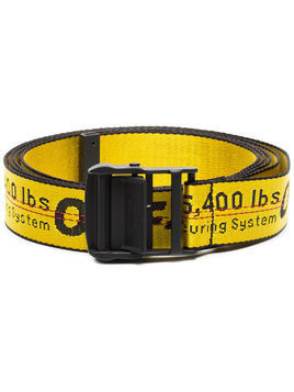 Off-White yellow and black Industrial belt - Yellow & Orange