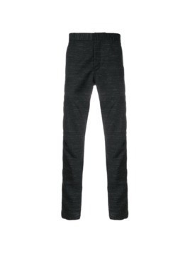 Lanvin slim fit chinos - Black