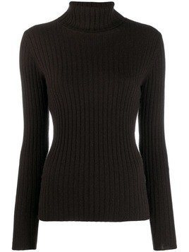 Allude cashmere turtleneck jumper - Brown