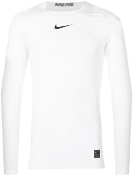 Nike Pro long-sleeve top - White
