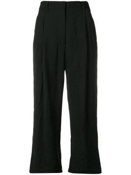 3.1 Phillip Lim Cropped Straight Tailored Pant - Black