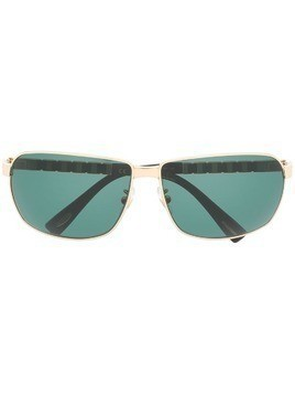 Chopard rectangular tinted sunglasses - Black