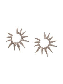 Oscar de la Renta sea urchin small earrings - Metallic