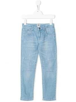 Karl Lagerfeld side stripe trousers - Blue