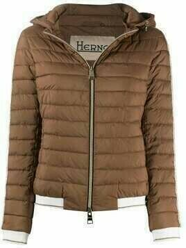 Herno padded hooded jacket - Brown