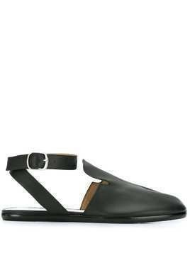 Maison Margiela Tabi cleft toe flat sandals - Black
