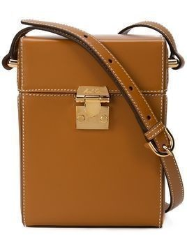 Mark Cross box shoulder bag - Brown