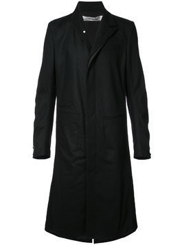 Individual Sentiments stretch flannel coat - Black
