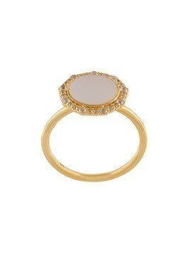 Astley Clarke Mother of Pearl Luna ring - Metallic