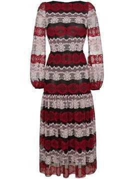 Giambattista Valli Lace Contrast Dress - Black