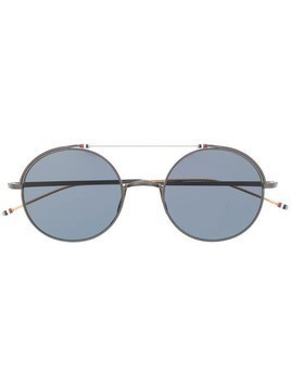 Thom Browne Eyewear round frame sunglasses - Black