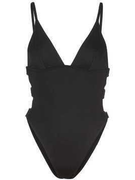 Fleur Du Mal cut-out high leg swimsuit - Black