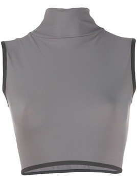 A-Cold-Wall* cropped mock neck top - Grey