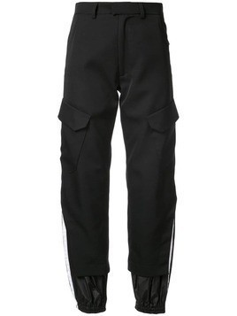 Delada tapered cargo trousers - Black