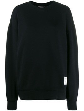 Acne Studios crew neck sweater - 900-Black