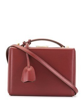 Mark Cross small Grace box bag - Red