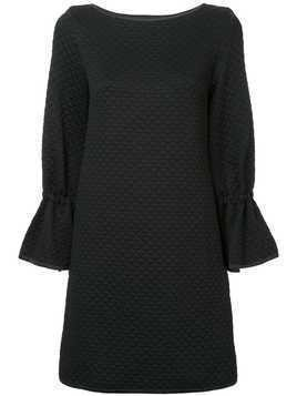 Osman quilted shift dress - Black