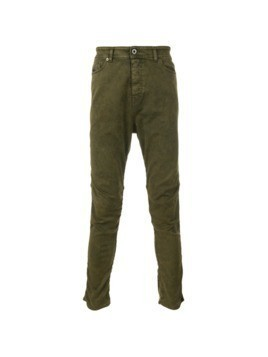 Diesel Black Gold washed effect skinny trousers - Green