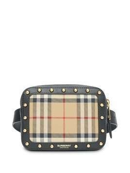 Burberry Kids Signature check belt bag - Neutrals