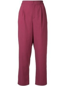 Ballsey cropped trousers - Purple