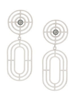 Charlotte Valkeniers Coil earrings - Silver