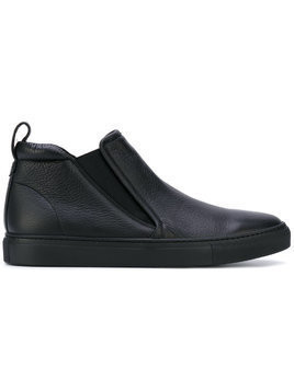 Aiezen slip-on boots - Black