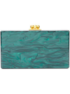 Edie Parker box clutch - Green