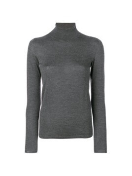 Le Tricot Perugia roll neck sweater - Grey