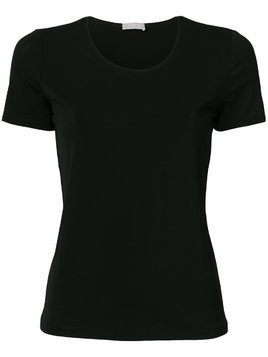 Le Tricot Perugia classic fitted T-shirt - Black