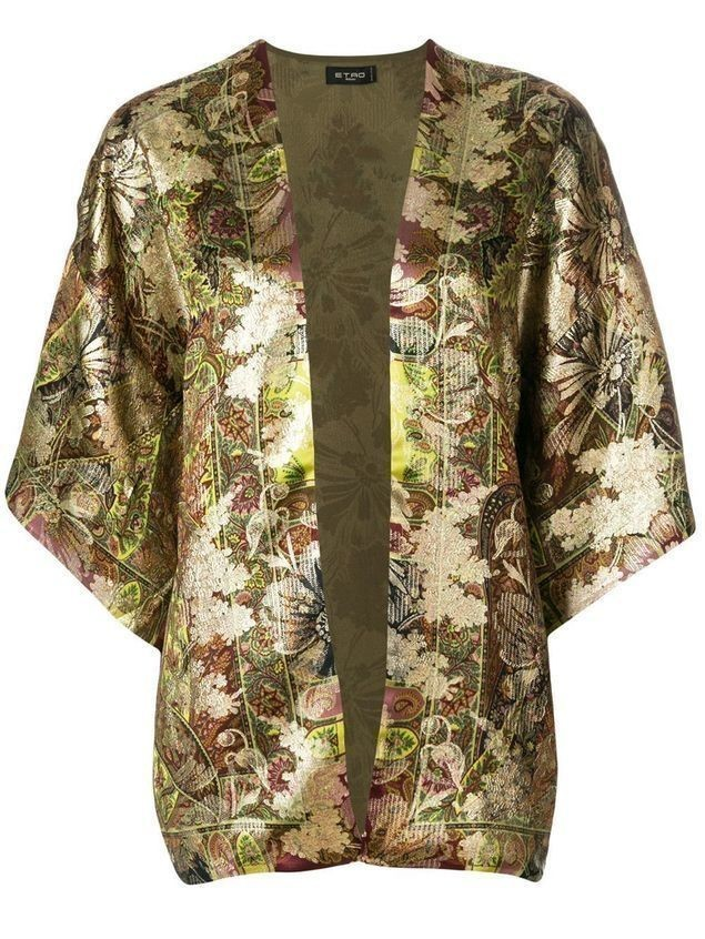 Etro patterned lightweight jacket - Multicolour