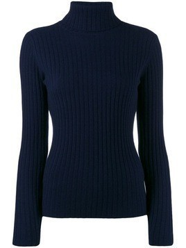 Allude ribbed sweatshirt - Blue