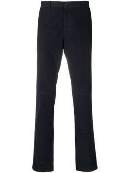 Z Zegna slim fit chino trousers - Blue