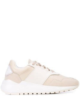 Buscemi two-tone sneakers - White