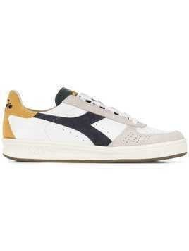 Diadora colour block sneakers - White