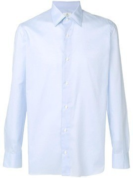 Borrelli classic fitted shirt - Blue