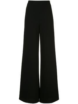 Alexis Irvine high-rise palazzo trousers - Black