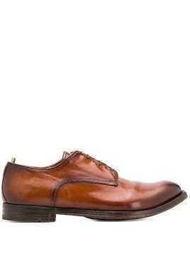 Officine Creative Anatomia 12 derby shoes - Brown
