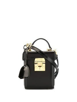 Mark Cross mini Grace box bag - Black