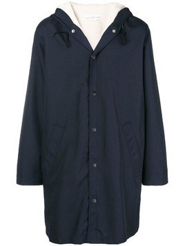 Golden Goose Deluxe Brand straight fit raincoat - Blue
