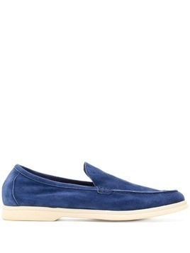 Andrea Ventura Sailor style loafers - Blue