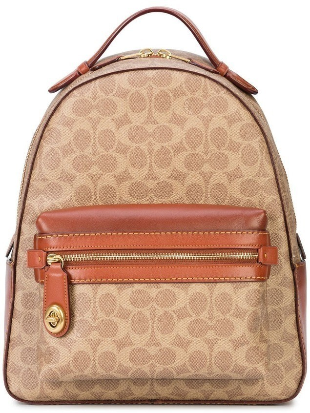 Coach signature canvas Campus backpack - Brown