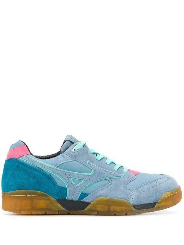 Mizuno lace up sneakers - Blue