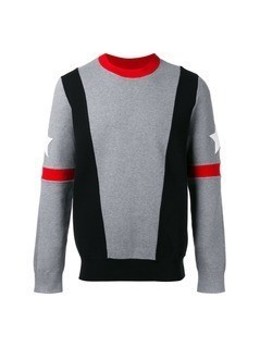 Givenchy stars and stripe sweatshirt - Grey