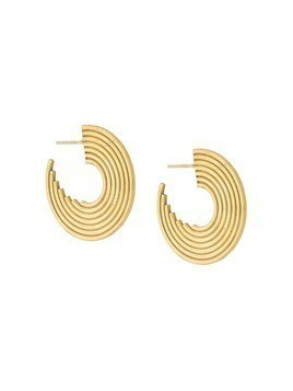 Charlotte Valkeniers Spectrum hoop earrings - Gold