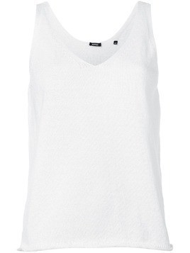 Aspesi knitted tank top - White