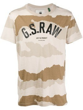 G-Star Raw Research camouflage print T-shirt - Neutrals