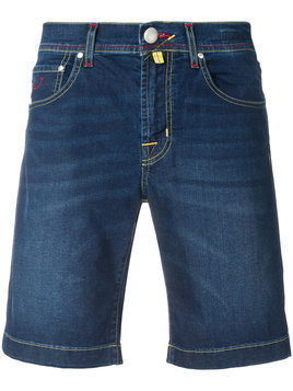 Jacob Cohen - denim shorts - Herren - Cotton/Polyester/Spandex/Elastane - 37 - Blue