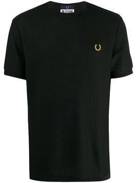 Fred Perry Miles Kane Turtle Neck Pique Tee - Black