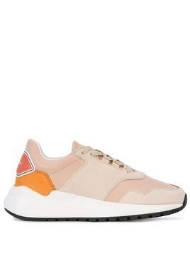 Buscemi low-top colour block sneakers - White