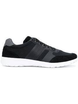 Tommy Hilfiger honeycomb mesh sneakers - Black